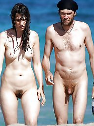 Nudist, Hanging, Couple, Nudists