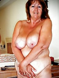 Granny, Saggy, Saggy tits, Saggy boobs, Granny tits, Hairy granny