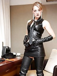 Latex, Leather, Pvc, Boots, Mature boots, Mature latex