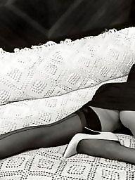 Vintage, Nylon, Lady, Nylons, Ladies, Milf stockings