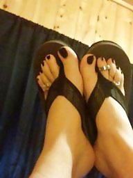 Work, Toes, Black, Black amateur, After