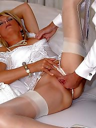 Satin, Facial, Mature facial, Mature stocking, Mature facials, Stocking mature