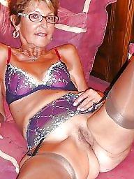 Granny stockings, Nylon, Granny nylon, Nylons, Granny stocking, Nylon granny