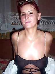 Bikini, Mature bikini, Downblouse, Dress, Underwear, Mature dress