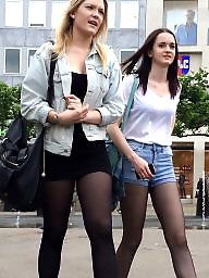 British, Tights, Amateur teen, Short, Shorts, Amateur teens