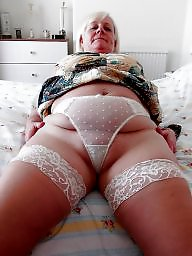 Granny, Mom, Granny stockings, Grannies, Granny stocking, Amateur mom