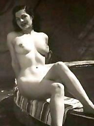 Lady, Vintage, Water