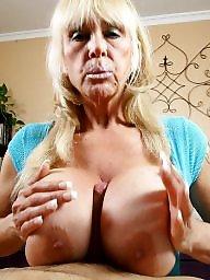 Granny tits, Huge tits, Granny blowjob, Huge, Blow, Pov