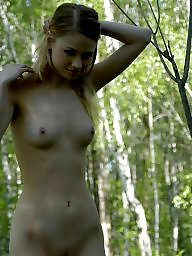 Thin, Naked teens, Naked
