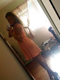 Skirt, Tights, Teen amateur, Teen dress, Tight dress, Tight