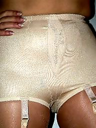 Girdle, Stockings mature, Mature girdle, Girdle stockings