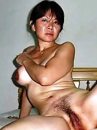 Mature hairy, Woman