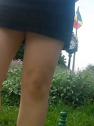 Skirt, Spy, Mini skirt, Romanian, Romanian girls, Hidden