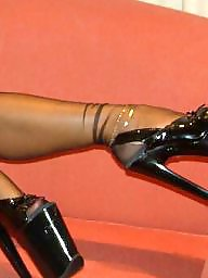 Stocking, Heels, Stockings heels