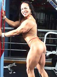 Femdom, Bodybuilder, Female, Femdom milf