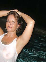 Pool, Amateur big boobs