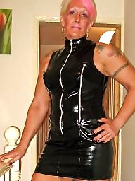 Pvc, Leather, Prostitute, Mature femdom, Prostitution, Mature leather