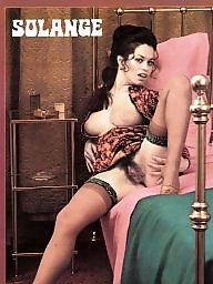 Retro, Magazine, Private, Hairy vintage
