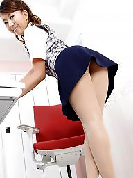 Office, Lady, Asian stockings