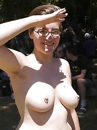 Boobs, Flashing, Outdoor, Big tit, Amateur tits, Tits flash