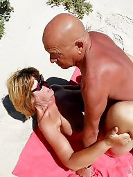 Mature, Beach, Mature beach, Public nudity, Public matures, Mature milf