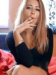 Smoking, Lipstick, Smoke