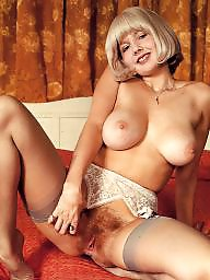 Vintage, Bush, Vintage boobs, Hairy bush