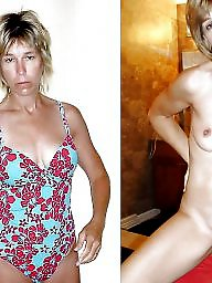 Dressed, Dressed undressed, Dress, Mature mix, Mature dress undress, Mature dress