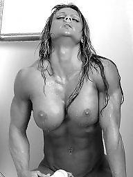 Muscle, Femdom milf, Muscles, Muscled