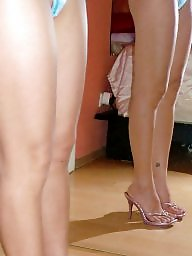 High heels, Thai, Asian milf