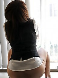 Office, Lady, Beautiful, Asians, Officer, Office ladys