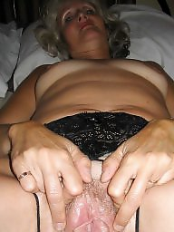Mother, Feet, Dildo, Mature pussy, Pussy, Mature fuck