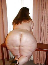 Huge ass, White ass, Huge