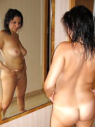 Busty milf, Brunette, Show, Love, Brunette milf, Milf big boobs