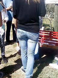 Jeans, Candid, Butt, Butts, Tight ass