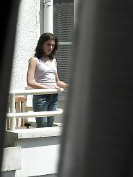 Neighbor, Upskirt voyeur, Pretty