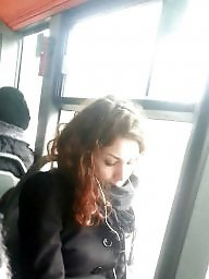 Voyeur, Bus, Spy, Romanian, Teen and mature, Spy cam