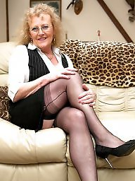 Nylon, Granny stockings, Dick, Dicks