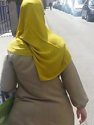 Hijab ass, Street, Ass hijab, Stocking amateur