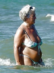 Granny, Big granny, Granny boobs, Granny big boobs, Granny beach, Busty granny