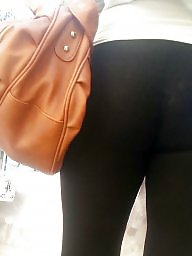 Cameltoe, Hidden, Spy, Leggings, Legs, Teen ass