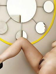 Flashing boobs, Art, Mirror