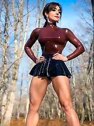 Latex, Leather, Milf upskirts