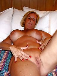 Grandma, Granny boobs, Big granny, Mature big boobs, Mature blond, Blonde granny
