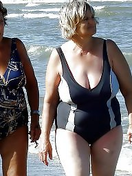 Beach, Mature beach, Granny beach, Sexy granny, Granny amateur, Beach mature