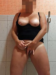 Wife flashing, Wife amateur, Play, Milf flashing