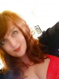 Redhead, Teasing, Tease, Boob, Big asses