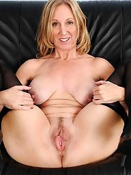 Blonde mature, Sensual, Mature stocking, Mature nipple, Body, Mature nipples