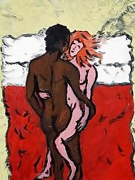 Interracial cartoon, Interracial cartoons, Art, Cartoon interracial
