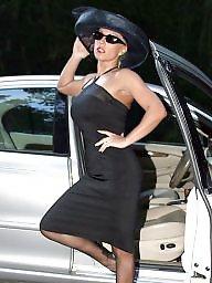 Car, Nylon, Lady, Upskirt stockings, Cars, Stockings car